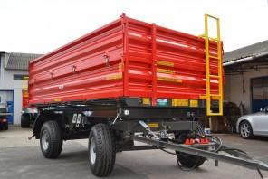 Przyczepa rolnicza dwuosiowa MD602; ładowność 6000 kg