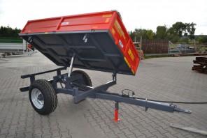 Przyczepa rolnicza Jednoosiowa MW150; ładowność 1500kg