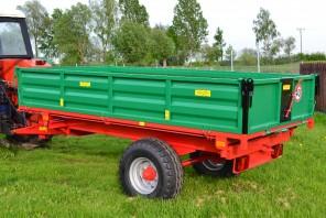Przyczepa rolnicza Jednoosiowa MW250; ładowność 2500kg