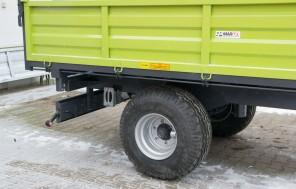 Przyczepa rolnicza Jednoosiowa MW450; ładowność 4500kg