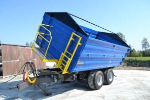 Przyczepa rolnicza Tandem MT1001; ładowność 10000kg