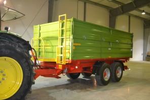 Przyczepa rolnicza Tandem MT1401; ładowność 14000kg