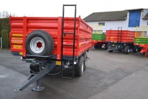 Przyczepa rolnicza Tandem MT601; ładowność 6000kg