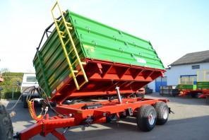 Przyczepa rolnicza Tandem MT801; ładowność 8000kg
