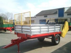 Rozrzutnik obornika Jednoosiowy MR250; ładowność 2500 kg