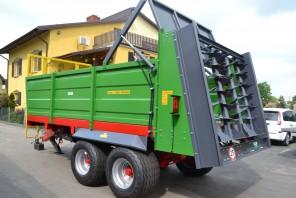 Rozrzutnik obornika Tandem MR1100; ładowność 11000 kg