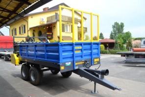 Rozrzutnik obornika Tandem MR600; ładowność 6000 kg